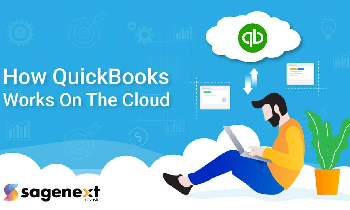 how QuickBooks works on the cloud