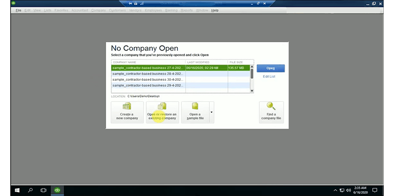 how quickbooks works on the cloud step 4