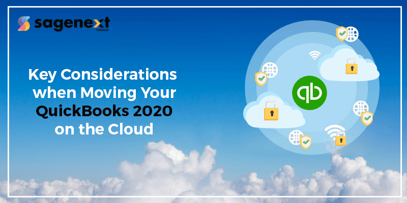 What to consider when moving QuickBooks on cloud