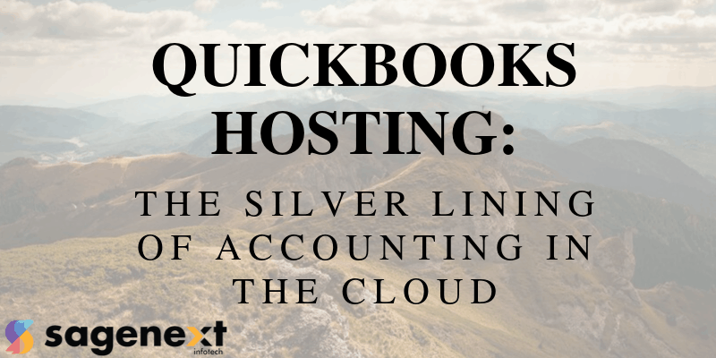 accounting with QuickBooks hosting