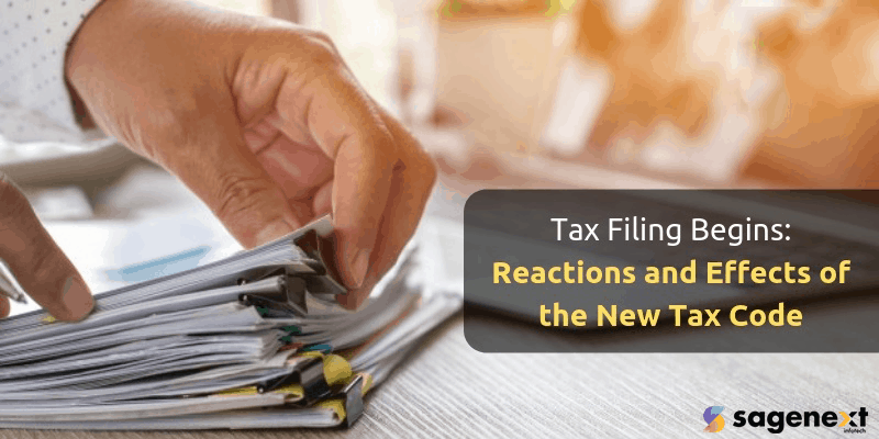 Reactions And Effects Of The New Tax Code
