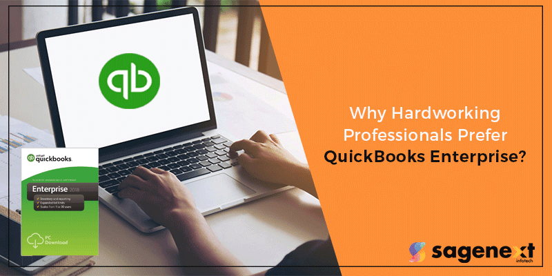QuickBooks Enterprise for hardworking professionals